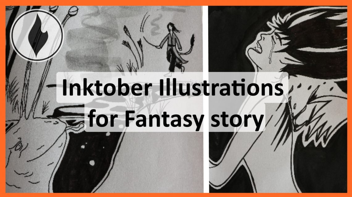 Inktober 2019 Gallery Cover Fantasy Story